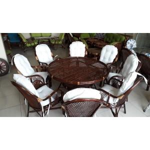 Bambu Masa Takımı ( 8 kişilik)