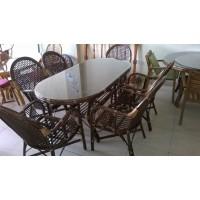 Ramona Sandalye Takımı (oval masa)